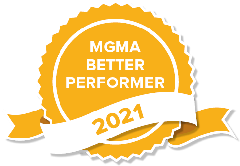 MGMA Better Performer 2021